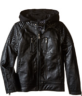Urban Republic Kids - Faux Leather Biker Jacket (Big Kids)