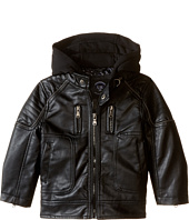 Urban Republic Kids - Faux Leather Biker Jacket (Toddler)