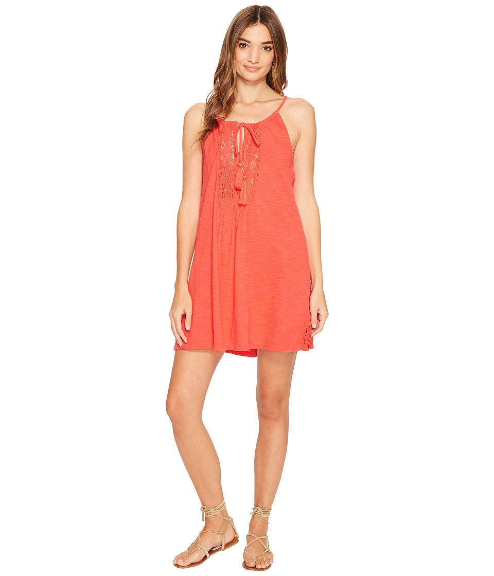 Roxy Black Water Dress (Hibiscus) Women