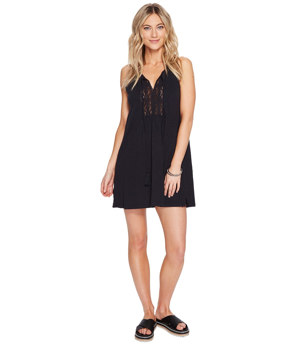 Roxy Black Water Dress (Anthracite) Women