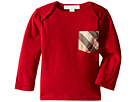 Burberry Kids Checked Pocket Callum Top (Infant/Toddler)