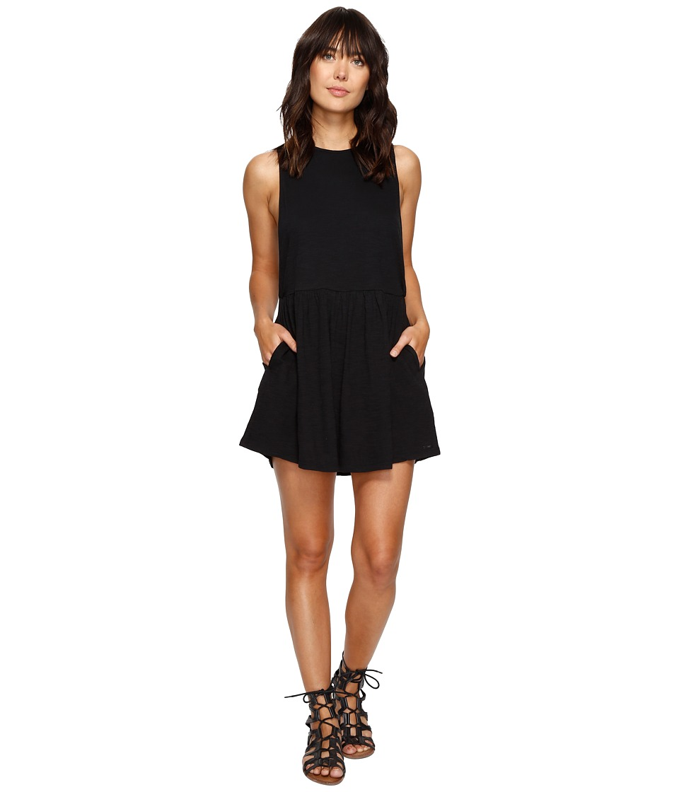 Roxy One Of These Nights Dress (Charcoal Heather) Women