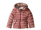 Burberry Kids Mini Janie Checked Hood Jacket (Infant/Toddler)