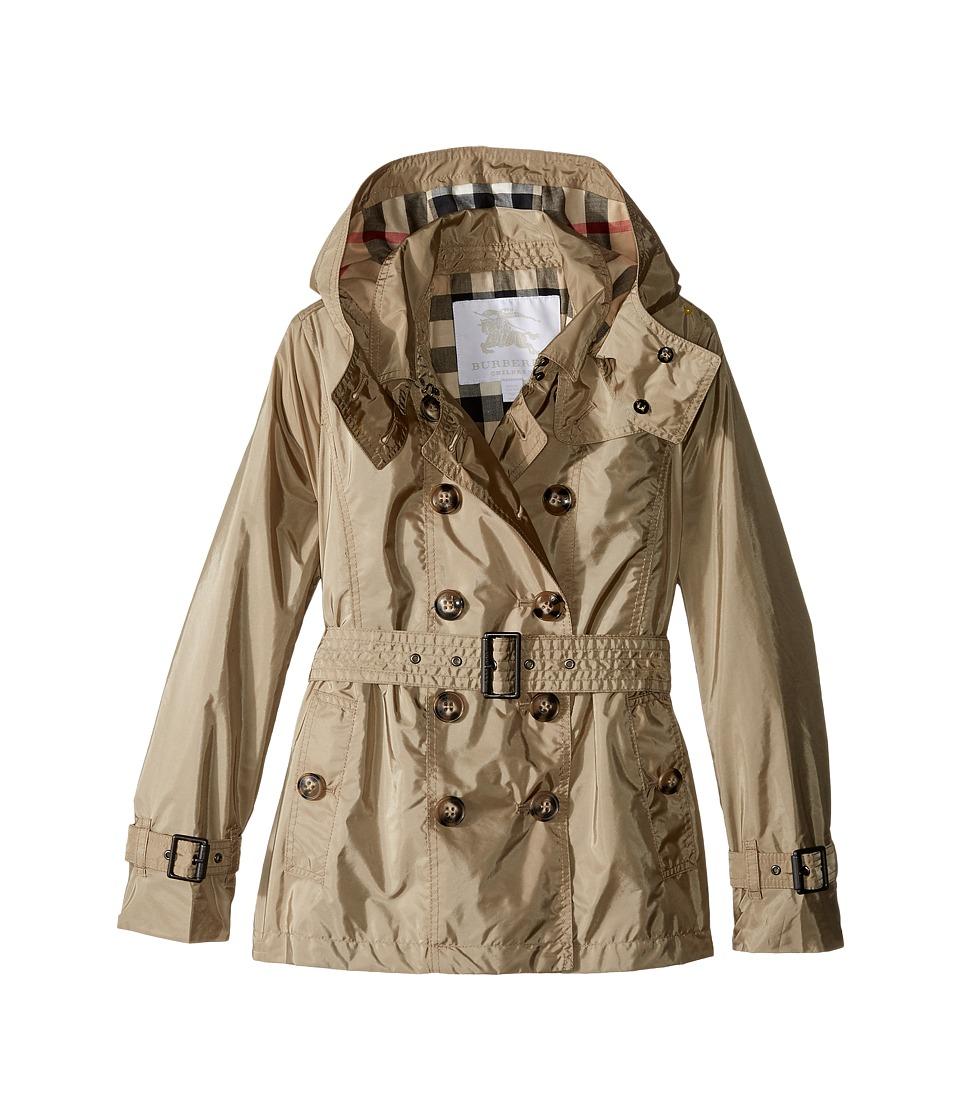 Burberry Kids - Grangemoore Checked Hood Jacket (Little K...