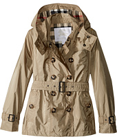 Burberry Kids - Grangemoore Checked Hood Jacket (Little Kids/Big Kids)
