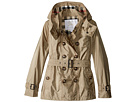 Burberry Kids Grangemoore Checked Hood Jacket (Little Kids/Big Kids)