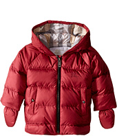 Burberry Kids - Rilla Puffy Checked Hood Jacket (Infant/Toddler)