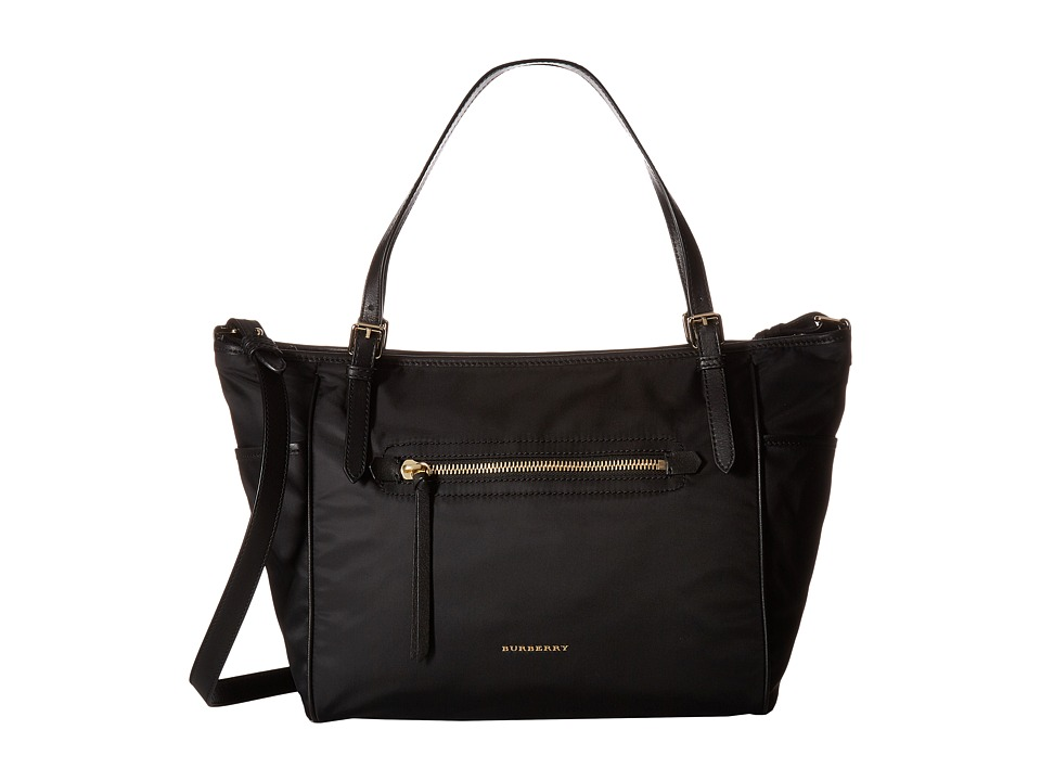 Burberry Kids - Diaper Tote (Black) Diaper Bags