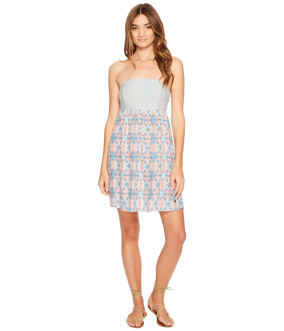 Roxy Crystal Light Dress (Marshmallow Land of Tehotihuac) Women