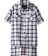 eve jnr - Oversize Button Up Tunic Shirt (Infant/Toddler/Little Kids)