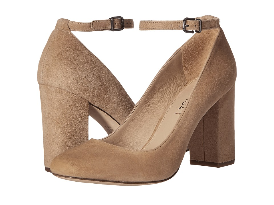 Via Spiga - Selita (Light Camel Suede) High Heels