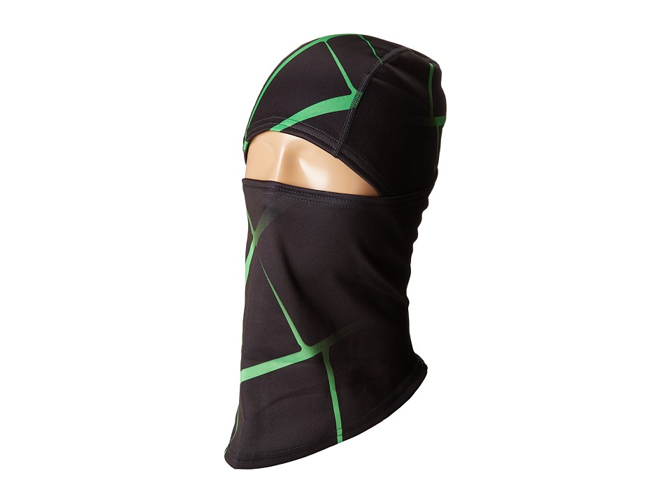 Spyder T-Hot Pivot Balaclava (Black/Blue) Knit Hats