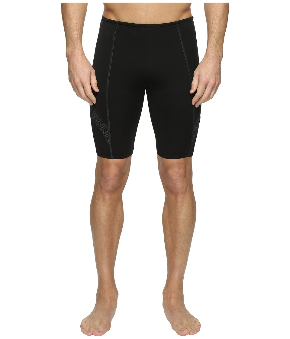 Speedo Fitness Endurance+ Compression Jammer (Speedo Black) Men
