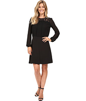 MICHAEL Michael Kors - Lace Combo Long Sleeve Dress