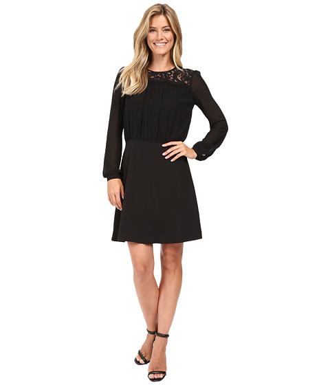 MICHAEL Michael Kors Lace bo Long Sleeve Dress at 6pm
