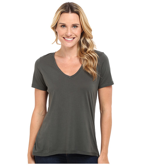 The Beginning Of Olivia V-Neck High-Low Tee