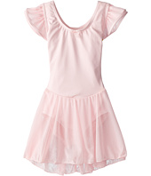 Capezio Kids - Flutter Sleeve Dress (Toddler/Little Kids/Big Kids)