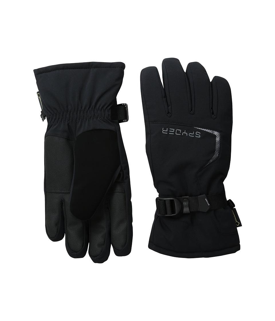 Spyder Traverse Gore-Tex(r) Ski Glove (Black/Polar) Ski Gloves