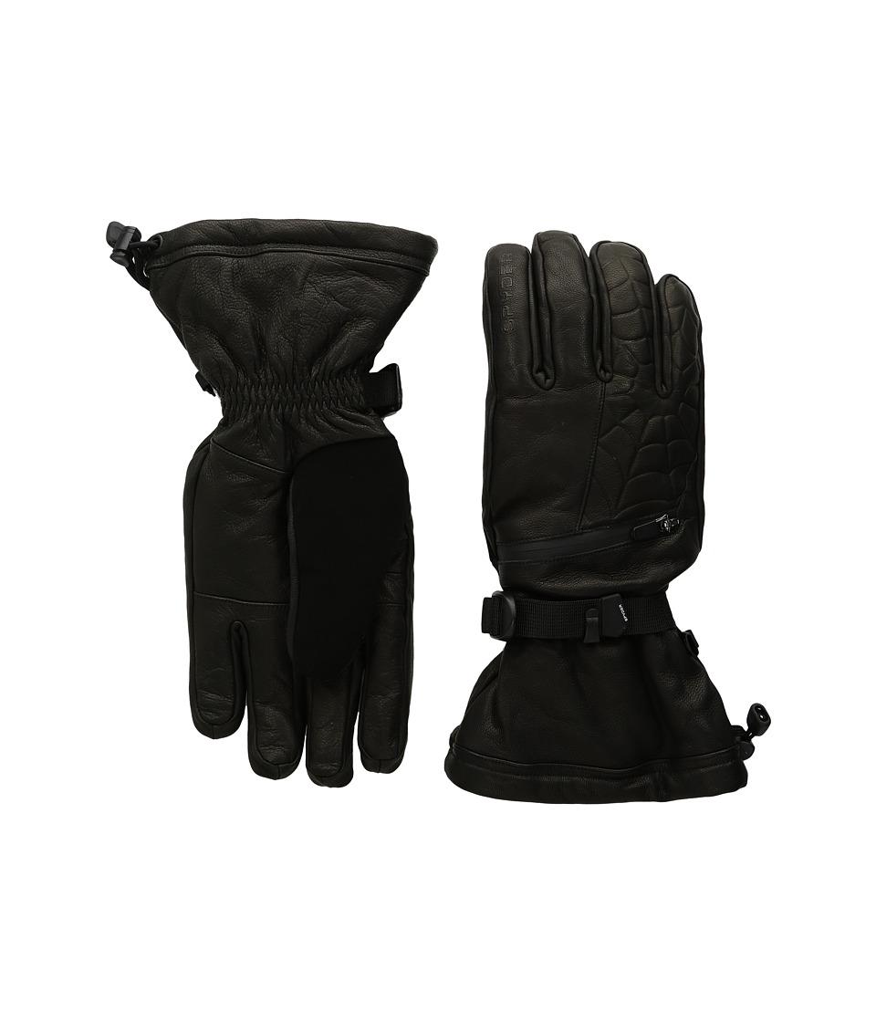 Spyder Ultraweb Ski Glove (Black 1) Ski Gloves