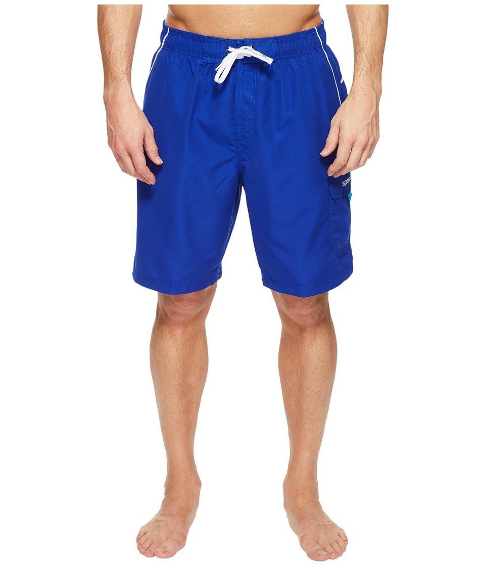 Speedo Marina Volley Swim Trunk (Dark Blue) Men