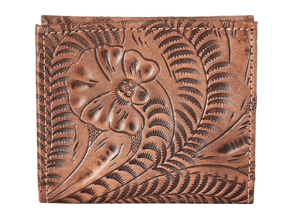 American West - Boyfriend Wallet Bifold Wallet (Dusty Rose) Wallet Handbags