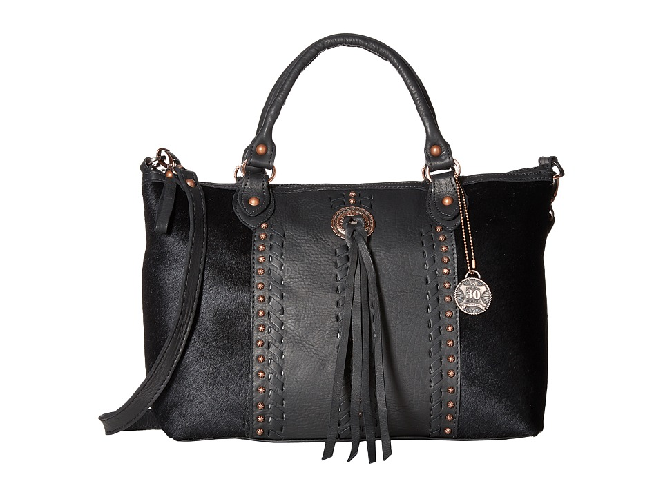 American West American West - Cow Town Large Zip Top Convertible Satchel