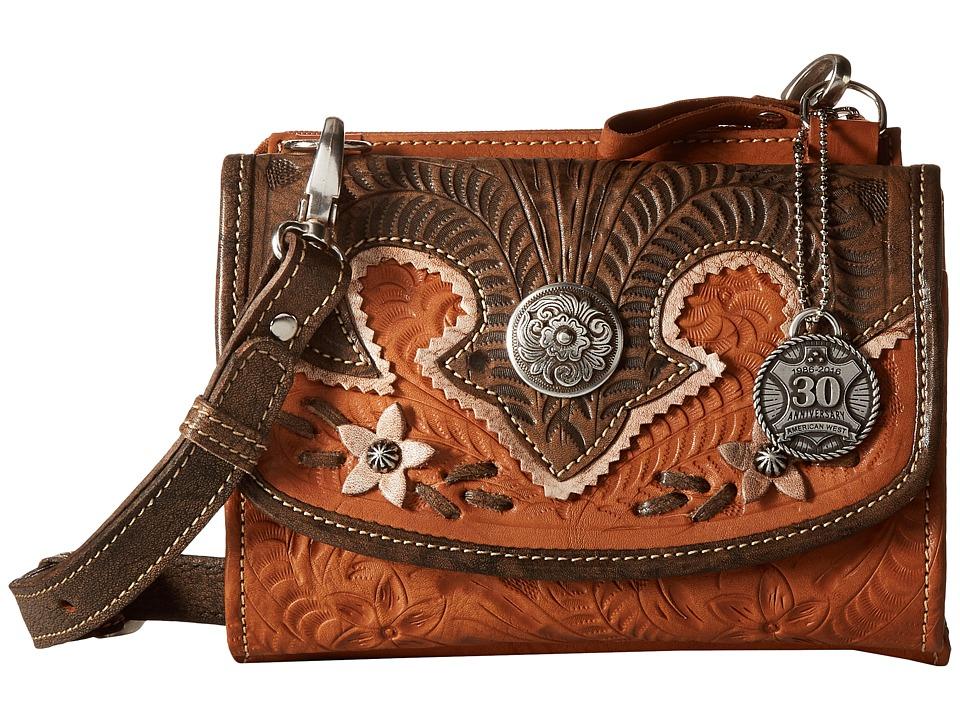 American West - Desert Wildflower Crossbody Bag/Wallet