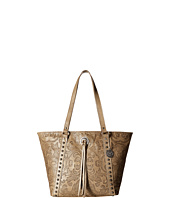 American West - Baroque Zip Top Bucket Tote