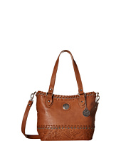 American West - Harvest Moon Convertible Zip Top Bucket Tote
