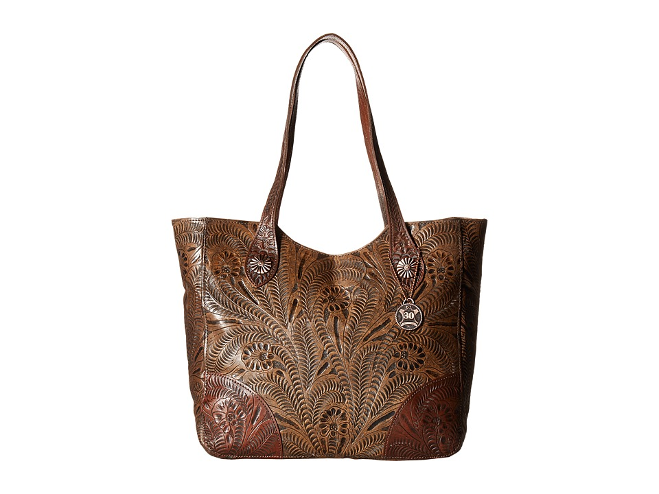 American West - Annie's Secret Collection Large Zip Top Tote