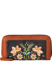 American West - Maya Zip Around Wallet