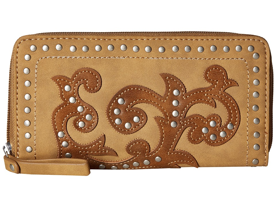 American West - Shady Cove Zip Around Wallet