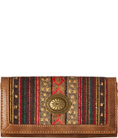 American West - Serape Flap Wallet