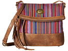 Serape Fold-Over Crossbody