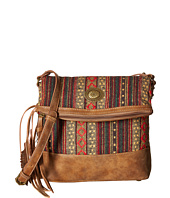 American West - Serape Fold-Over Crossbody