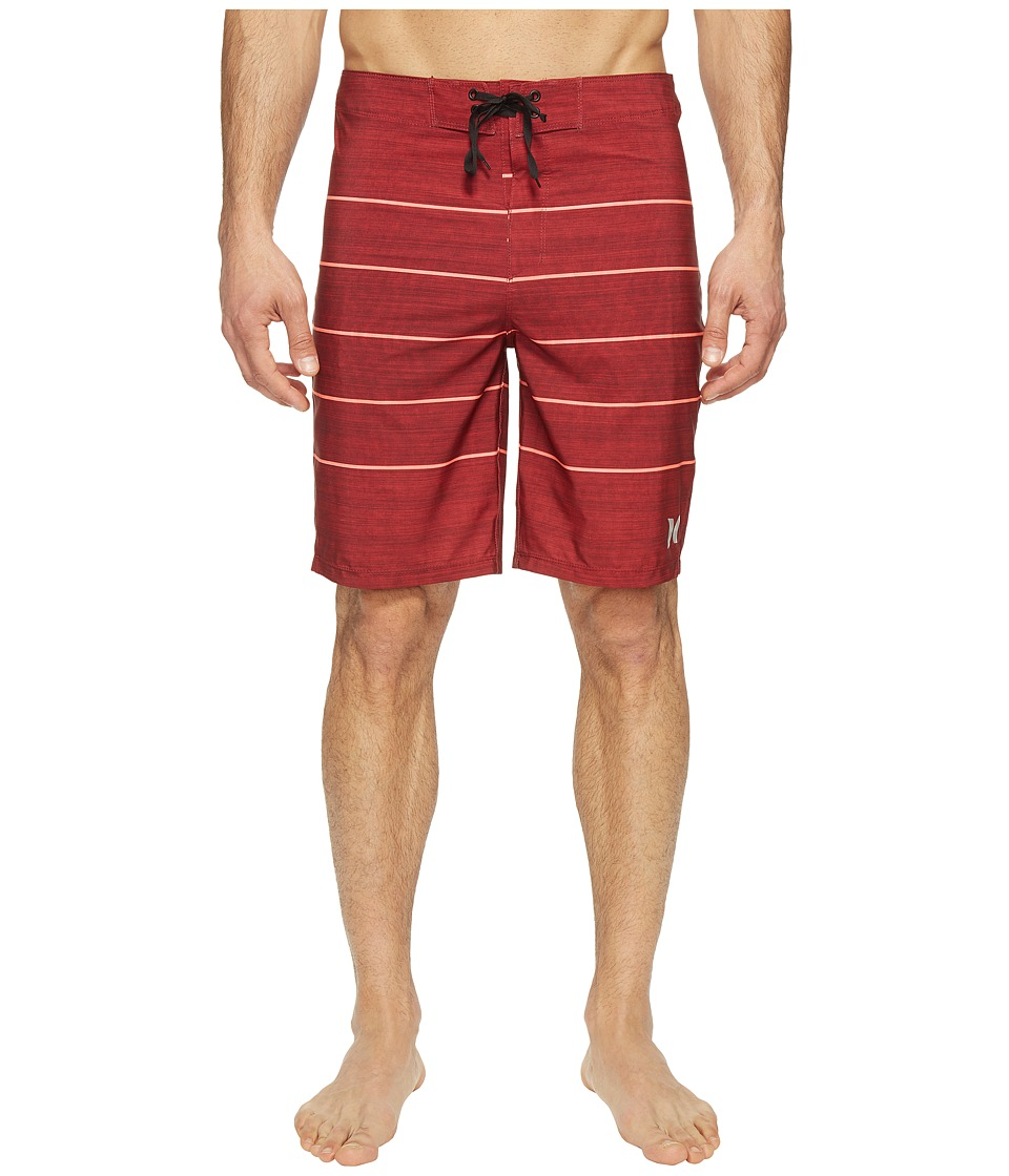 Hurley Phantom Pinline Boardshorts 20 (Gym Red) Men