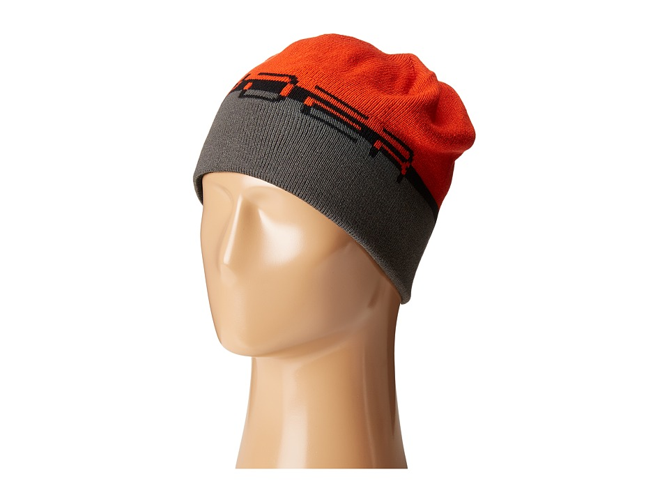 Spyder - Reversible Word Hat (Black/Rage/Polar) Beanies