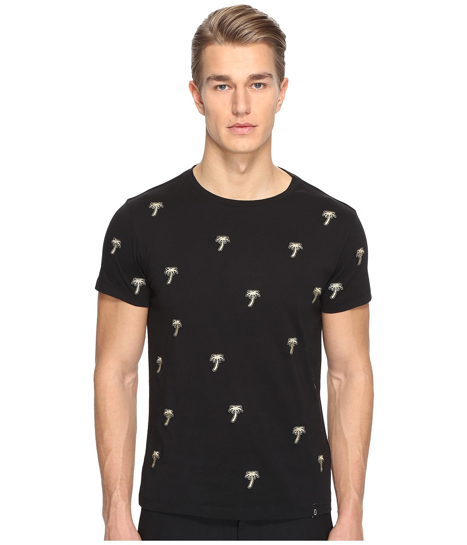Marc Jacobs - All Over Rainbows T-shirt (Jet Black) Men's T Shirt