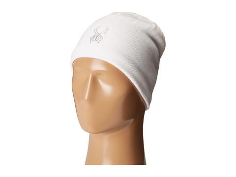 Spyder Shimmer Hat - White 1