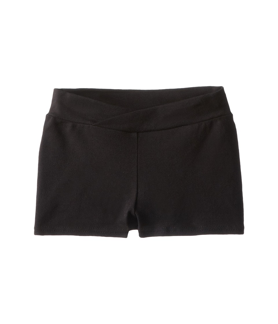 Capezio Kids - Classic Boyshorts (Toddler/Little Kids/Big Kids) (Black) Girl's Underwear