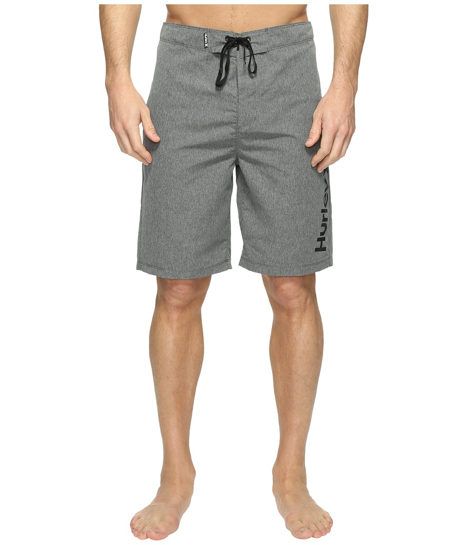 Hurley One Only Heather 2.0 Boardshorts 21 (Black) Men