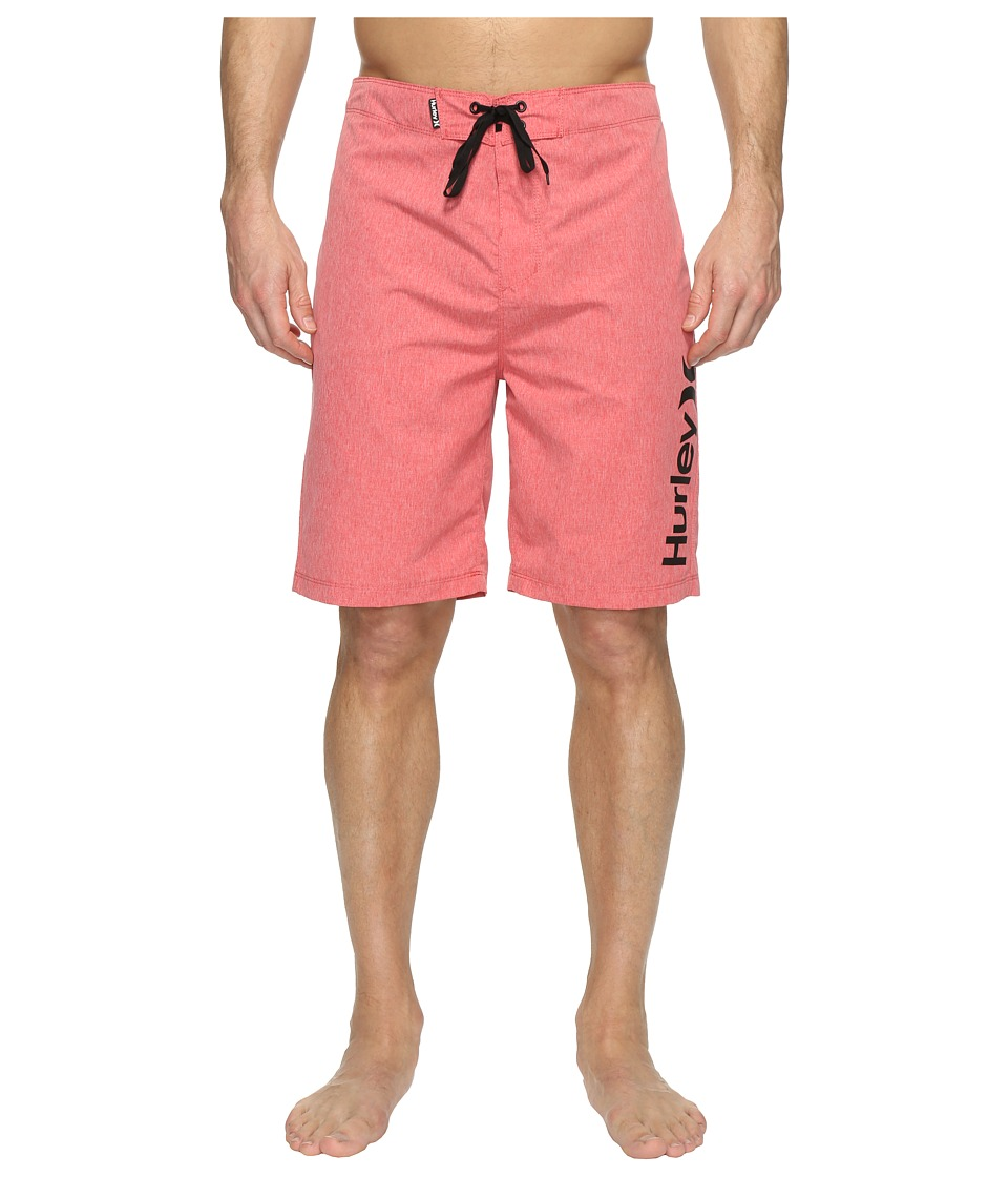Hurley One Only Heather 2.0 Boardshorts 21 (Gym Red) Men