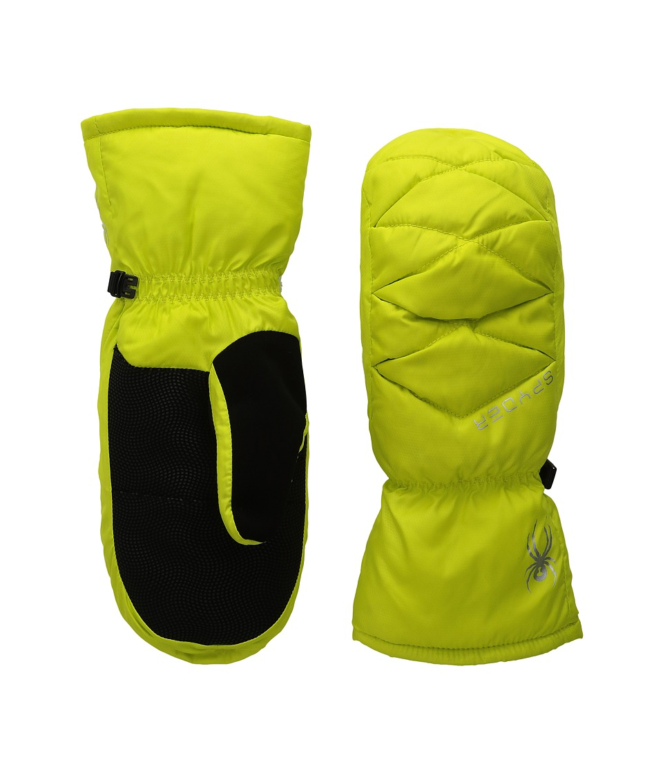 Spyder Candy Down Mitten (Acid) Extreme Cold Weather Gloves