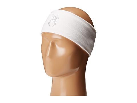Spyder Shimmer Headband - White