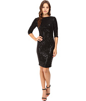 Vince Camuto - 3/4 Sleeve Sheath with Side Ruching