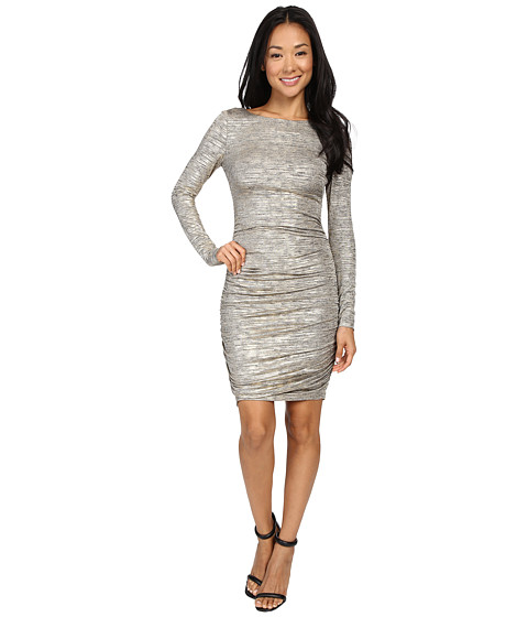 Vince Camuto Long Sleeve Ruched Knit