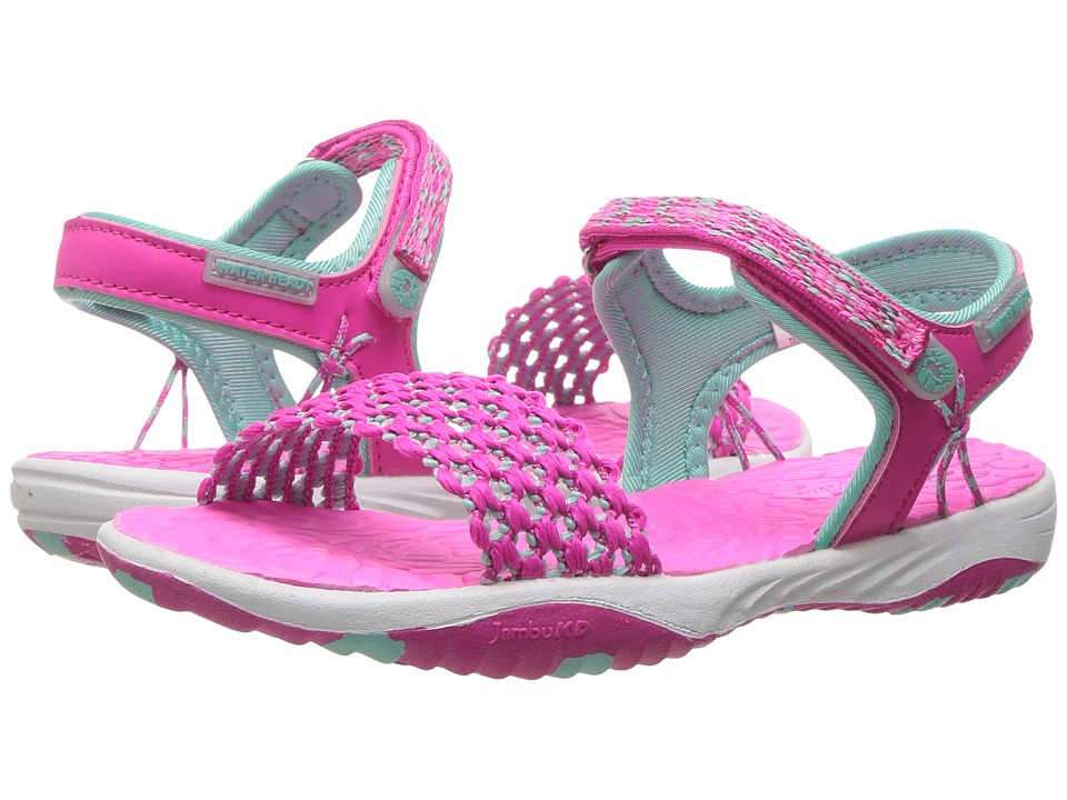 Jambu Kids Mohala (Toddler/Little Kid/Big Kid) (Pink/Turquoise) Girls Shoes