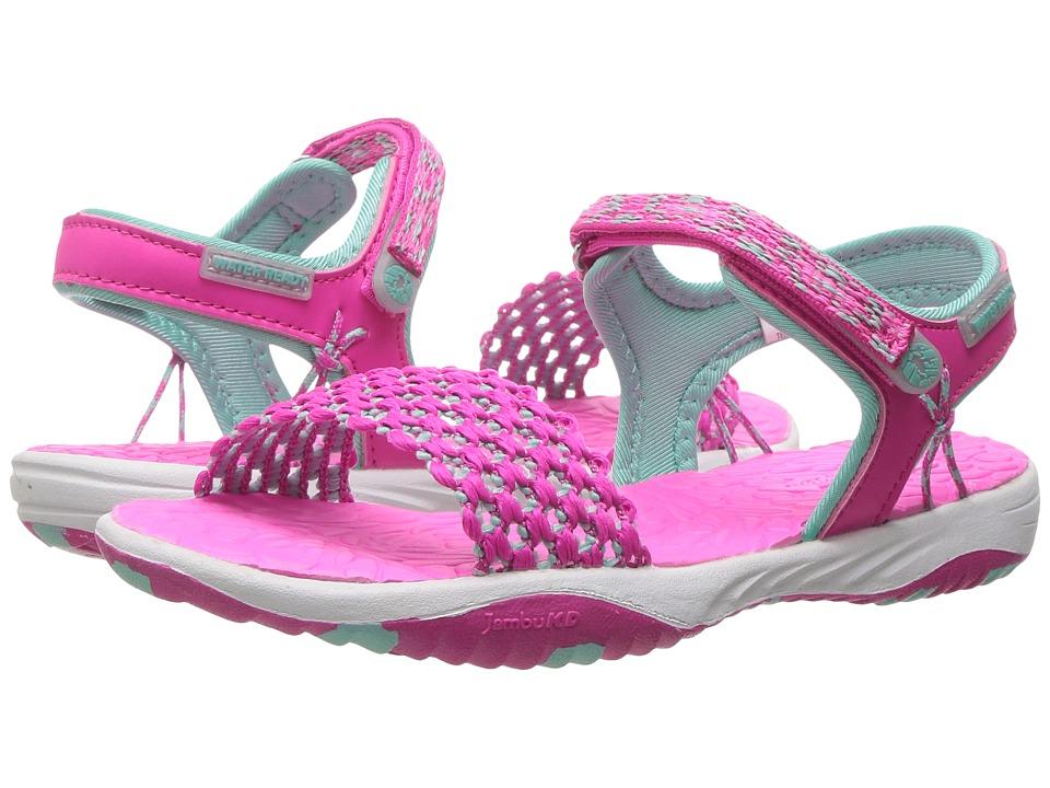 Jambu Kids Mohala (Toddler/Little Kid/Big Kid) (Pink/Turquoise) Girls Shoes