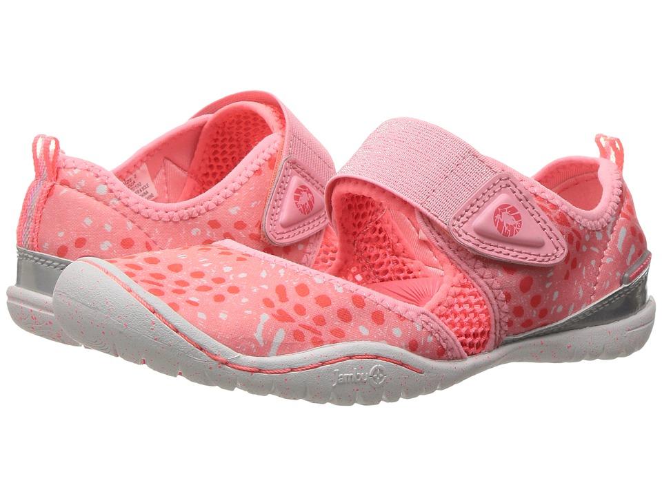 Jambu Kids Roza (Toddler/Little Kid/Big Kid) (Pink/Coral) Girls Shoes