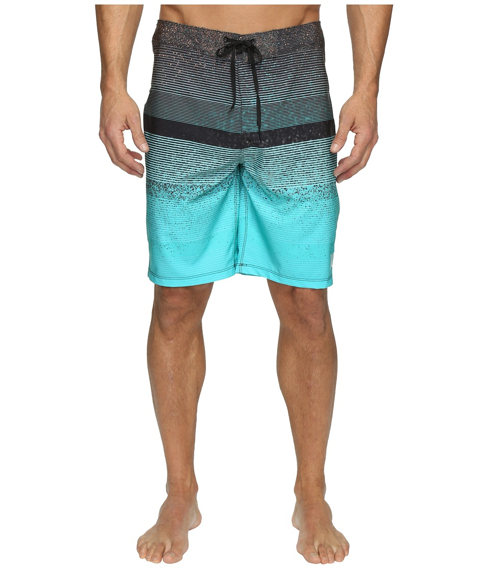 Hurley Phantom Zion Boardshorts (Bright Aqua) Men
